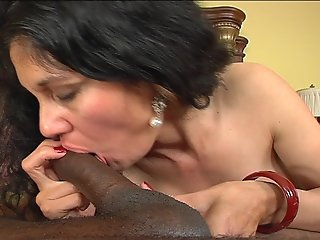 Sexy Latin Mother Invites A Big Black Cock Into Every Single Hole In Her Body