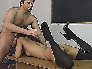 Petite Asian Babe Class Room Hard Sex