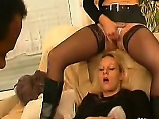 Blonde Wants Some Cock For Her And Her Friend