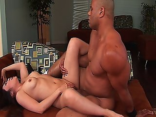 Sexy Oriental Babe Drilled By A Massive Black Cock