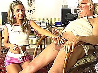 Teeny Fucked By Old Tart