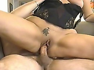 Colette Gets A Creampie On The Kitchen Table