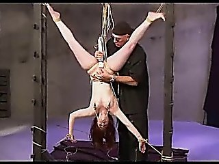 Tied Suspended Spanked And Toyed