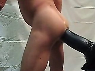Giant Dildo In My Ass Part Ii