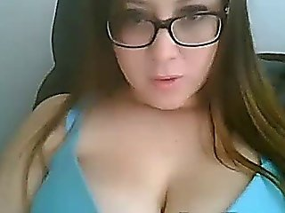 Girl With Big Tits Stripping