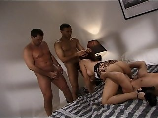 Alexandra Nice Gets All Her Wet Holes Fucked In Group Sex Scene