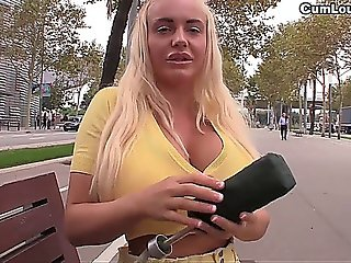 Hot Slut Wants A Big Cock Between Her Amazing Big Boobs