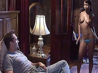 Sexy Black Babe Enjoys Interracial Cock Sucking And Pussy Fucking