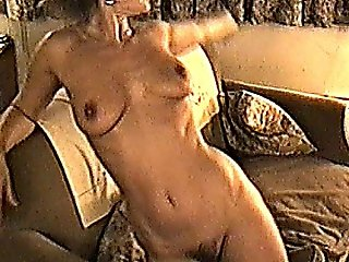 Yvonne Naked On The Sofa