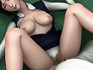 Animated Cutie Getting Mouth Fucked