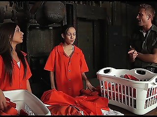 Jynx Maze Prisoner Anal Sex On The Jail Table