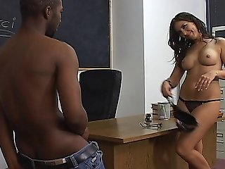 Mature Teacher Enjoys Getting Fucked By Her Black Student