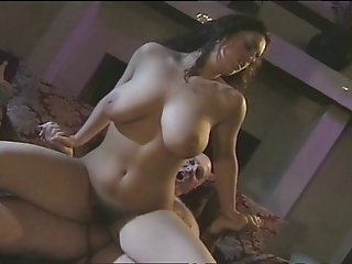Sexy Brunette Babe With Big All Natural Tits Riding A Hard Cock