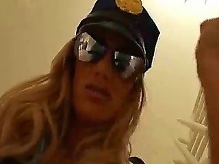 Busty Cop With Big Tits