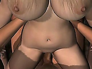 Excited Animated With Round Tits