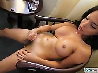 Asian Ladyboys Cumshots
