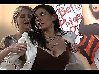 Hot Lesbian Intercourse With Julia Ann And The Horny Raylene