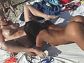 Public Beach Pussy Eating
