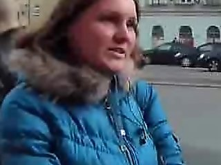 Crazy Public Fuck With A Busty Blonde
