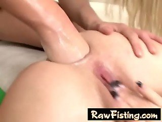 Anal fisting lesbian babes