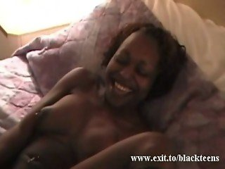 My BLACK GF Candy and her noisy orgasm