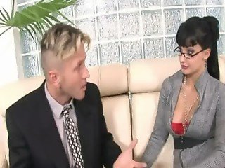 Office anal sex