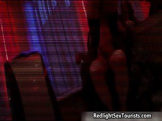 Dirty blonde Dutch hooker gets her pussy