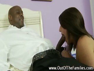 Amateur step daughter skank