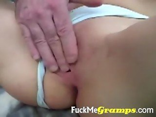 Fresh pussy for old guy