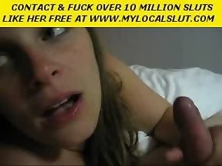 Sucking and talking dirty