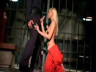 Banging Brea In Prison Guard