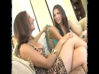 Milf Melissa And Her Hot Teen Daughter Missy Share Cock