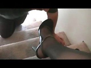 Arch Goddess Nylon Foot Worship