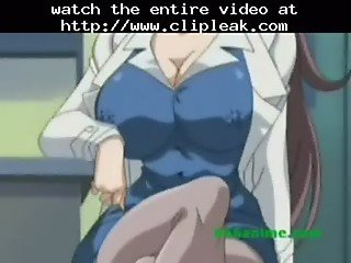 Busty Mature Anime Teacher Gets Fucked By 2 Horny Students