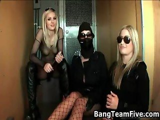 The bangteam fucking the police