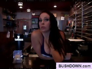 bar girl with hairy pussy