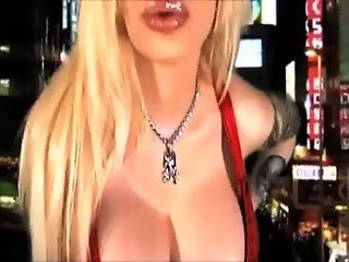 Sabrina Sabrok sexy punk star singer biggest breast in the world