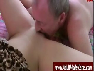 Old Man Fucks Young Hottie - AdultModelCams.com