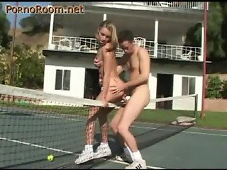 tennis court and Extreme Sex in the air