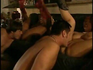 Fujiko Kano Mercedes Ashley In A Hot 4some Scene