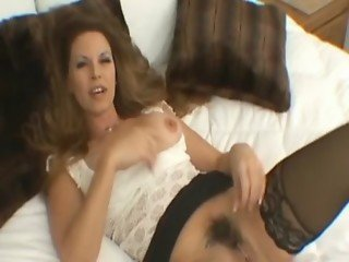 Hairy beautiful milf