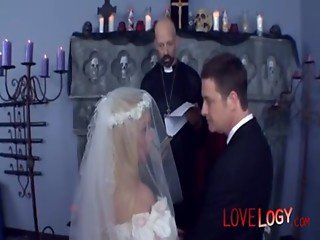 Wedding gangbang, Vaginal Sex Oral Sex Anal Sex Double Penetration Blonde Caucasian Blowjob