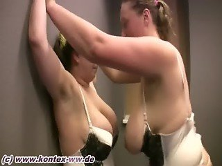 Stocking Catfight Steffi vs Lara 1
