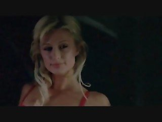 Paris Hilton Stripping in House of Wax