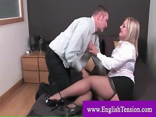 Sex slave gets a spanking by dominatrix