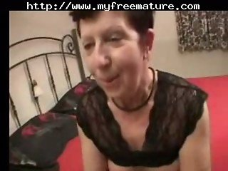 Red Nails Mature Fingers Toys And Spreads Then Sucks A Cock mature mature porn granny old cumshots