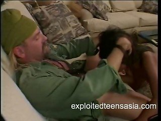 Asian Porn Star Does Anal Military Theme hardcore