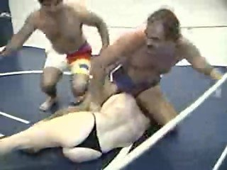 Mixed Wrestling - The Girl Next Door