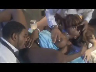 Jada Fire in Mobster's Ball - foursome