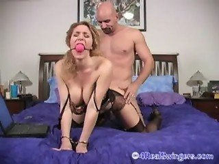 Handcuffed Fucked and Facial